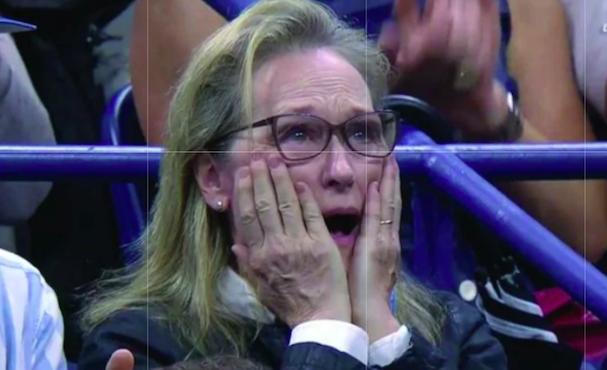 Meryl Streep US Open 607 5