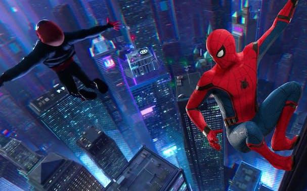 Spider-Man: Ιnto the Spider-Verse 607