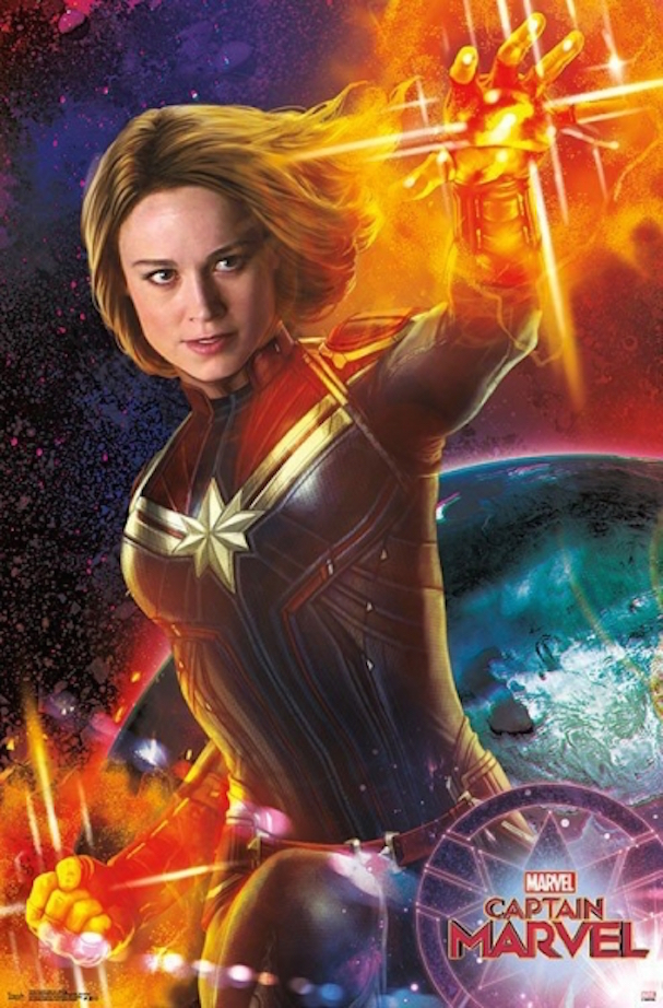 Captain Marvel posters 607 3