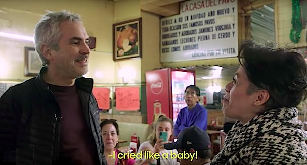 Alfonso Cuaron visits Roma 607 3