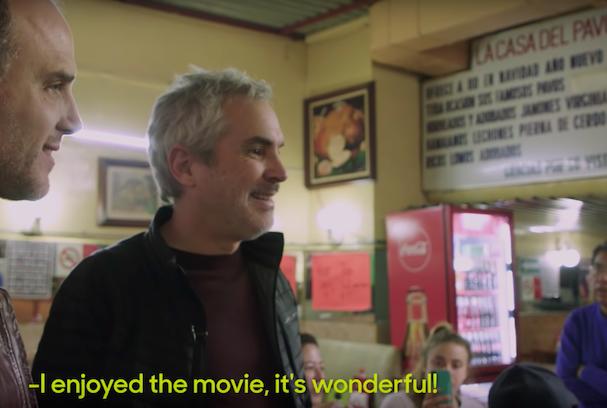 Alfonso Cuaron visits Roma 607 1