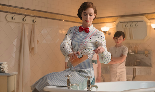 Emily Blunt bath tub