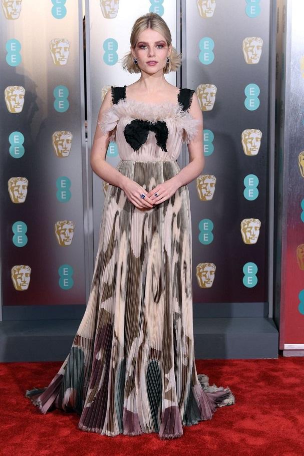 Lucy Boynton BAFTA