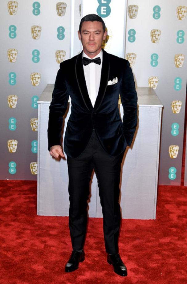 Luke Evans BAFTA