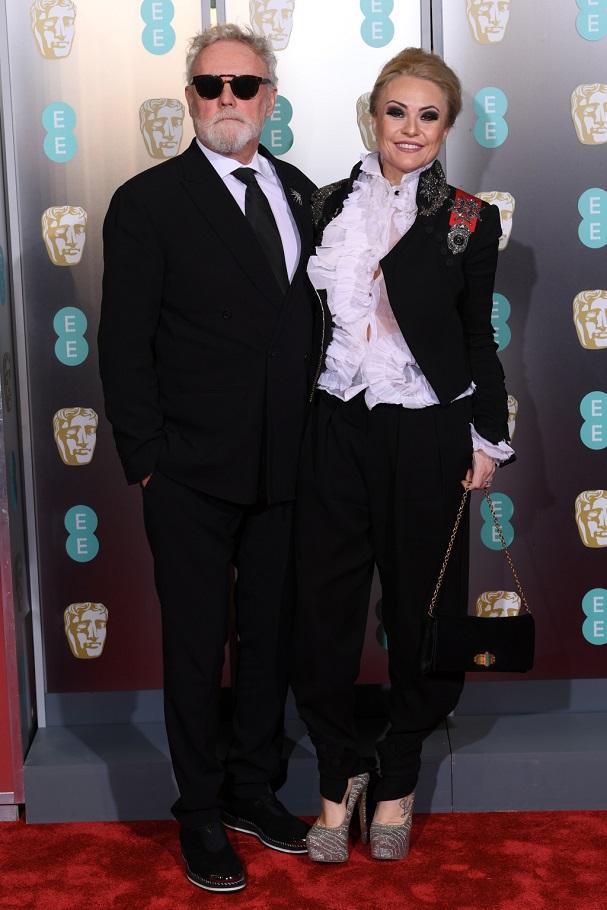Roger Taylor, Sarina Potgieter BAFTA