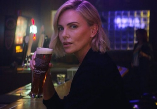 Charlize Theron Budweiser 607