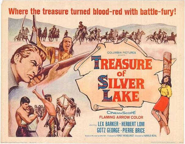Treasure of the Silver Lake Poster 607