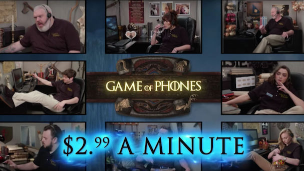 Game of Phones 607