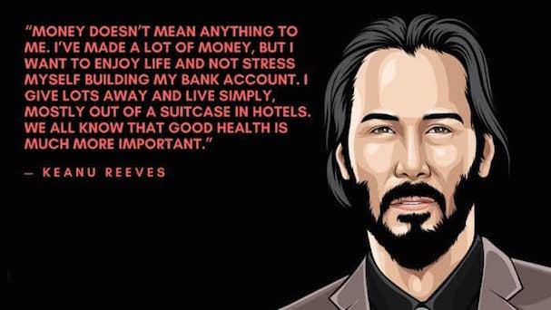 Keanu Reeves quote 607