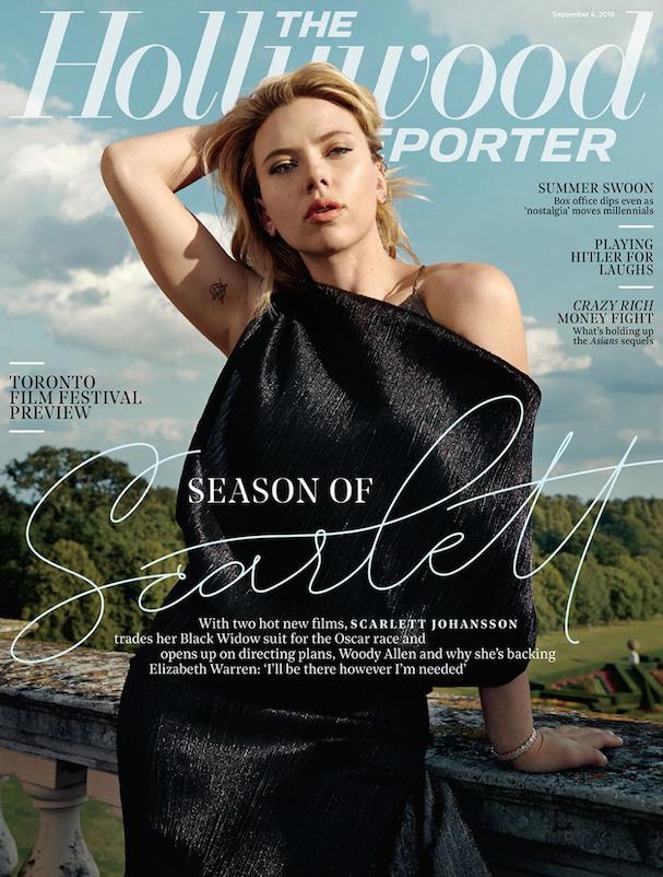 Scarlett Johanson Hollywood Reporter 607
