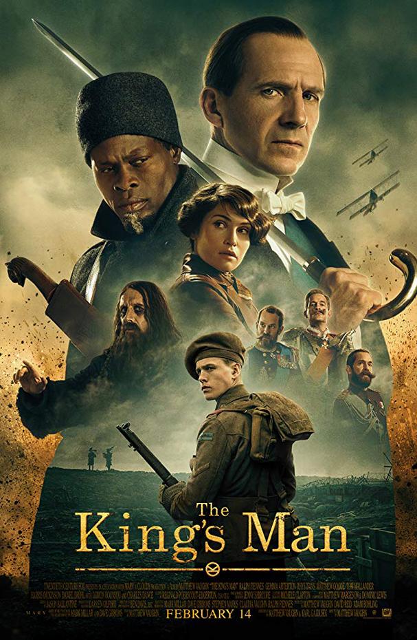 king's man poster 607