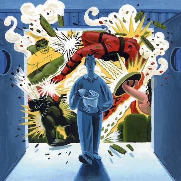 superheroes 607
