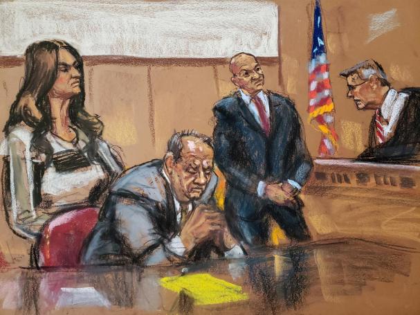 weinstein trial 607