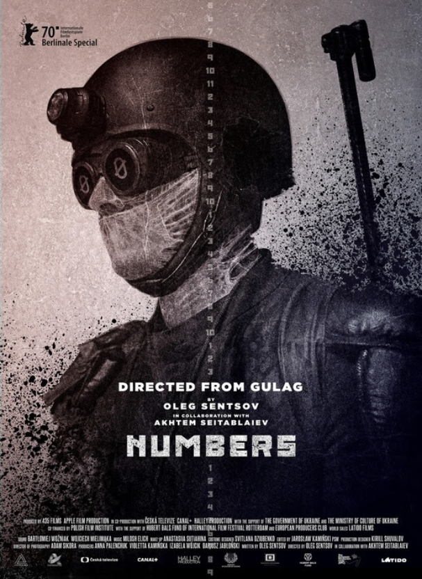 numbers poster 607