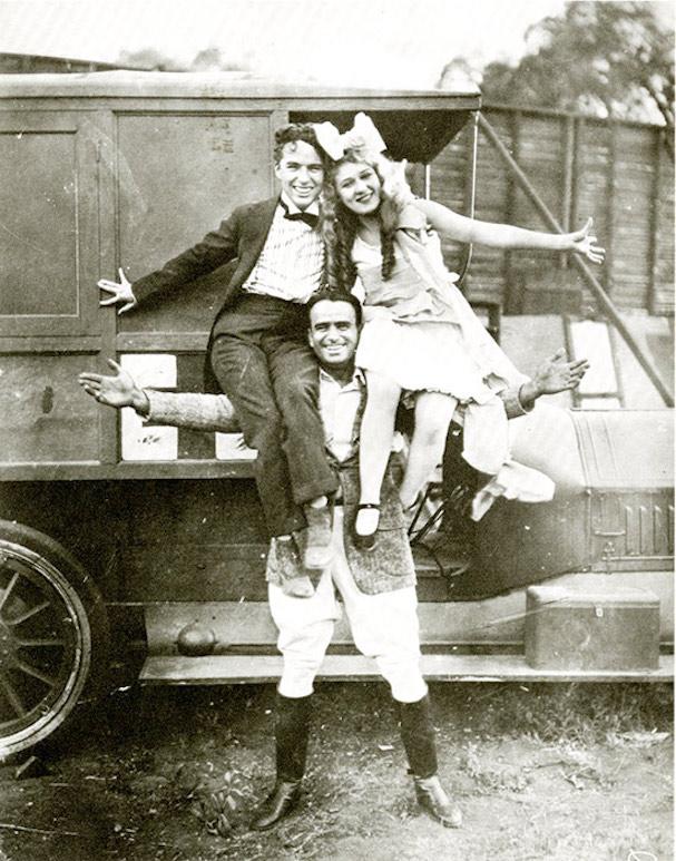 douglas fairbanks, charlie chaplin, mary pickford 607