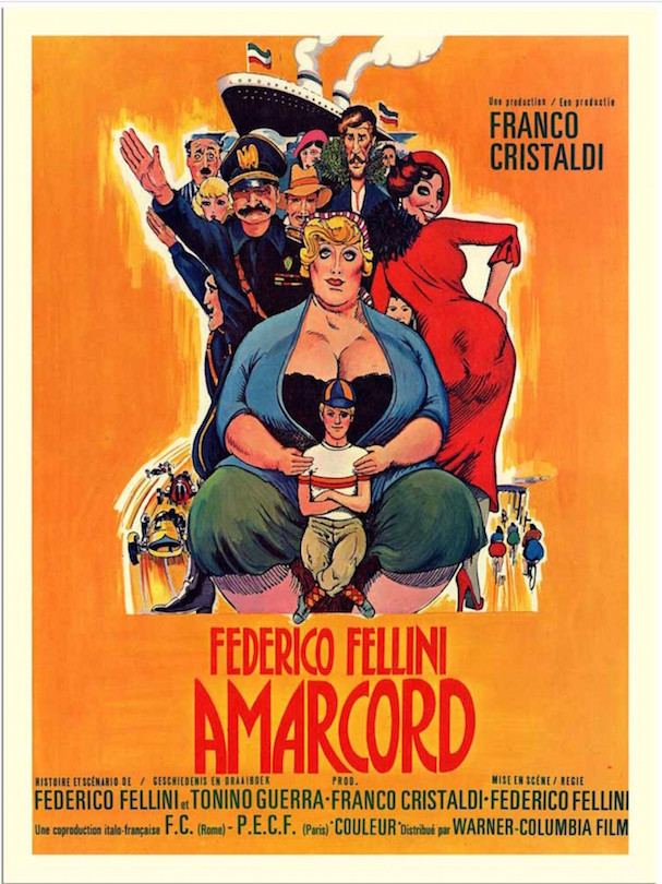 Amarcord 607 poster 1