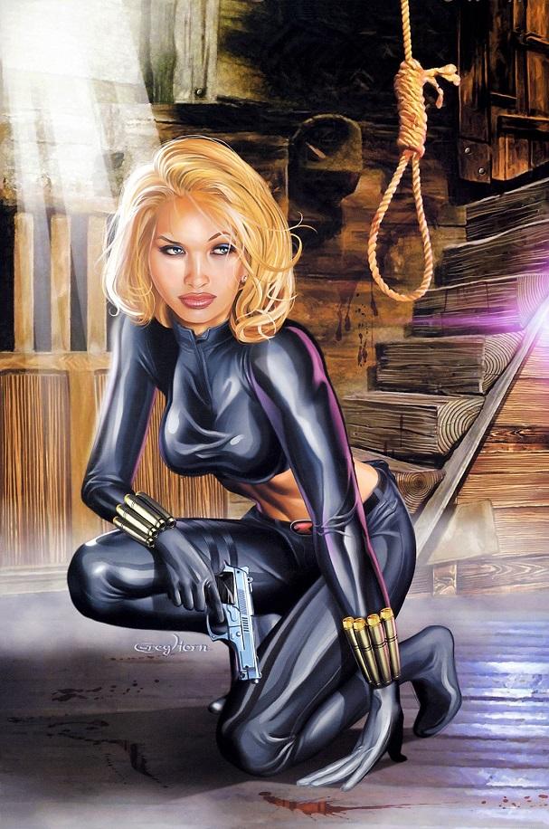 black widow 607