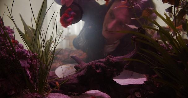 as if underwater