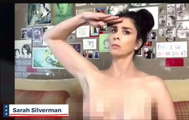 sara silverman naked ballot
