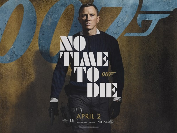 no time to die 2021 poster 607