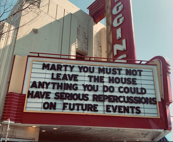 movie theater marquees Covid 607 11