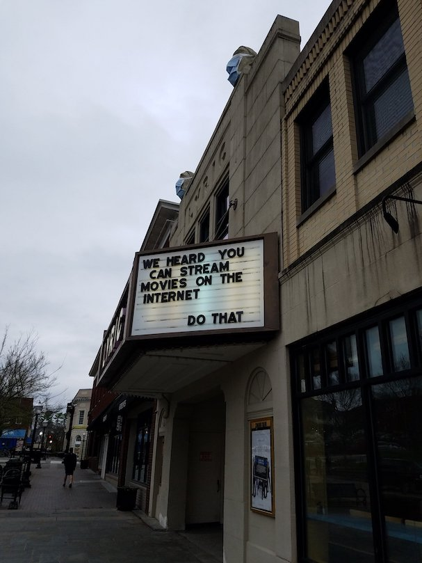 movie theater marquees Covid 607 13