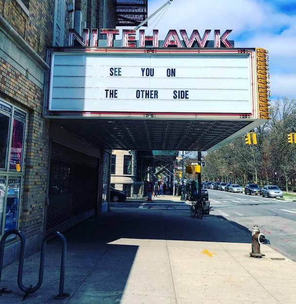 movie theater marquees Covid 607 7