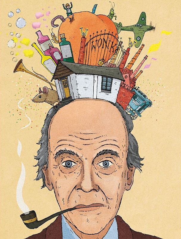 Roald Dahl Illustration 607