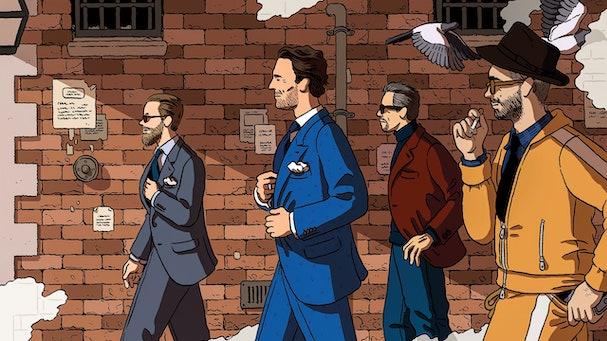 the gentlemen 607