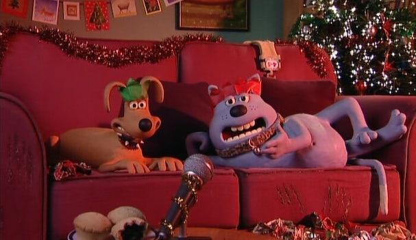 creature comforts Merry Christmas Everybody 607