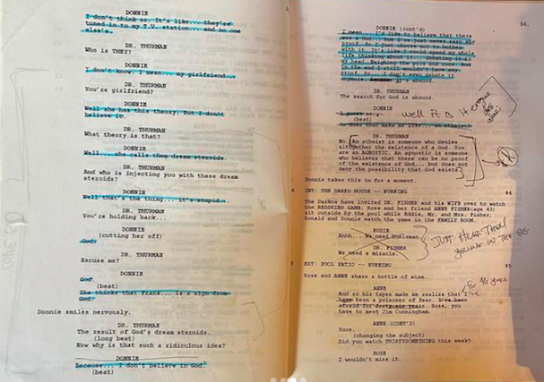 Donnie Darko script 607 3