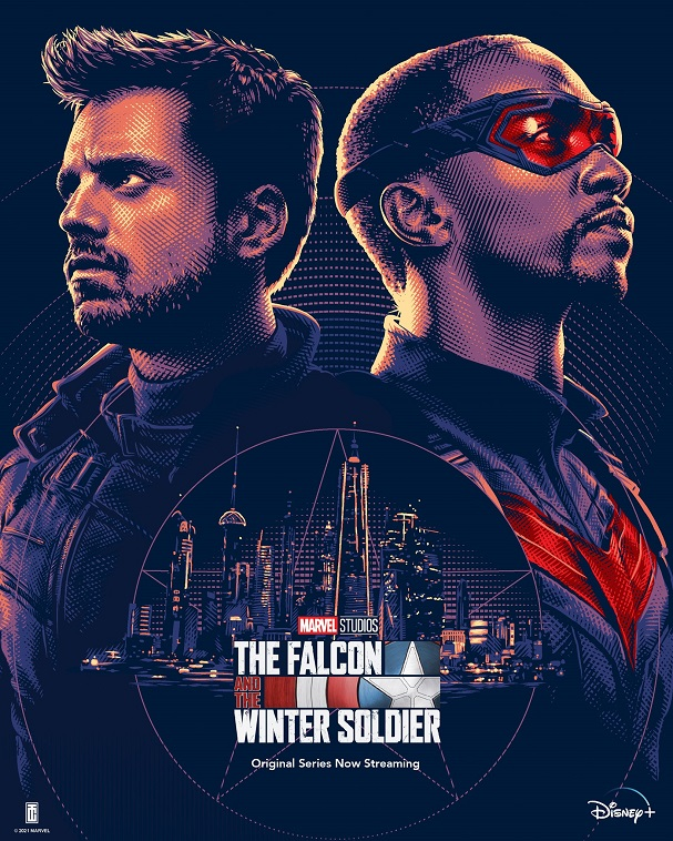falcon and the winter soldier poster 607