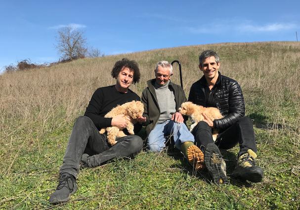 Μάικλ Ντουέκ και Γκρέγκορι Κέρσοου the truffle hunters 607