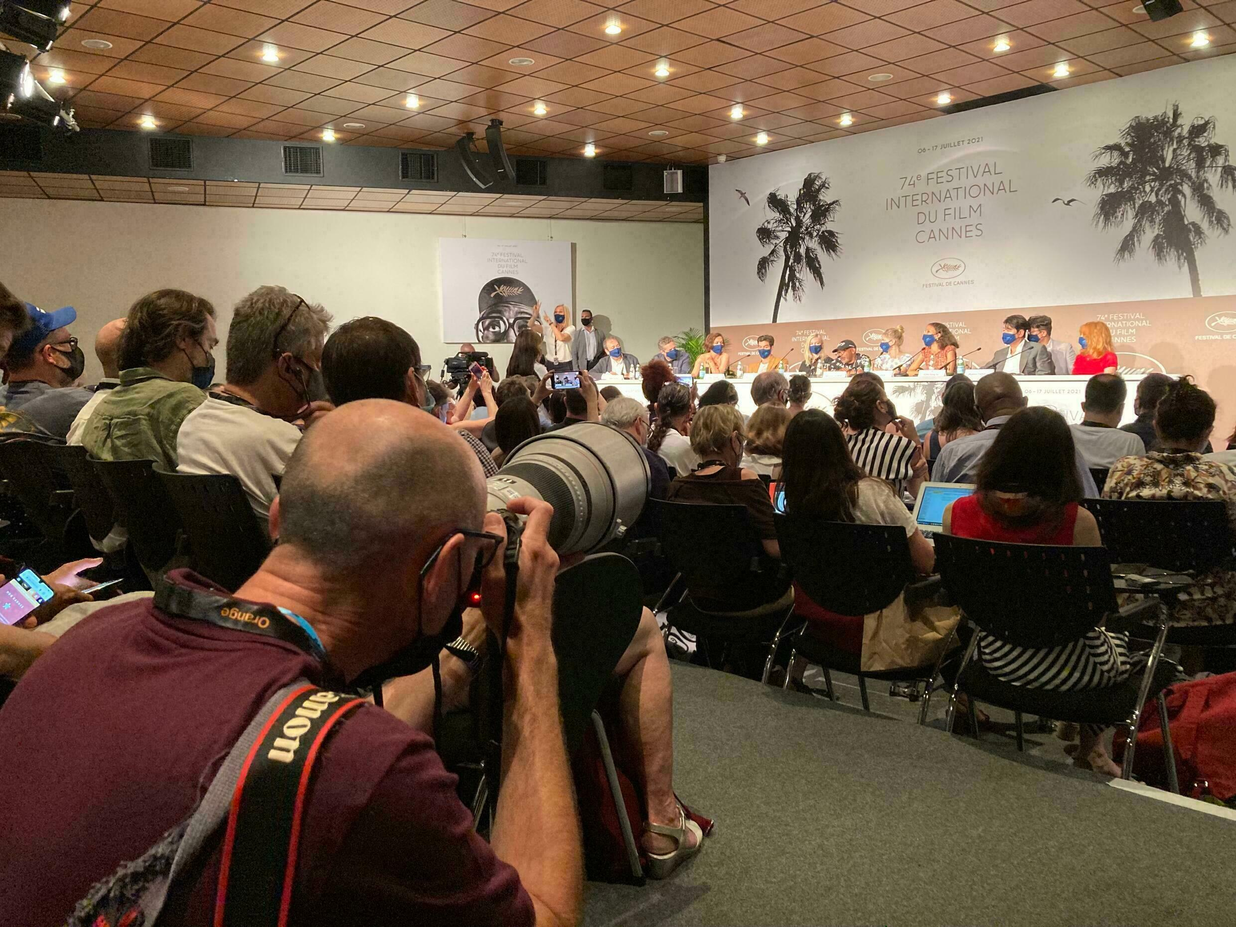 cannes 2021 press conference