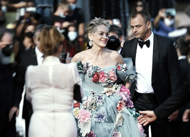 cannes 2021 day 9 sharon stone 607