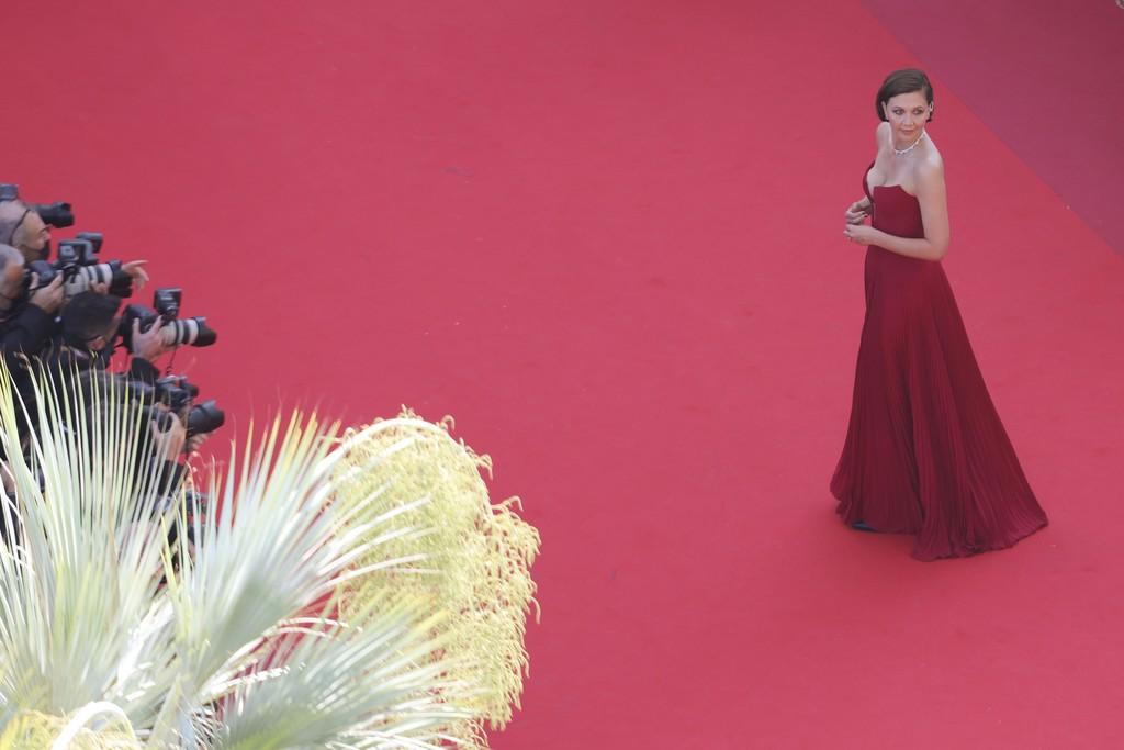 red carpet Maggie 1