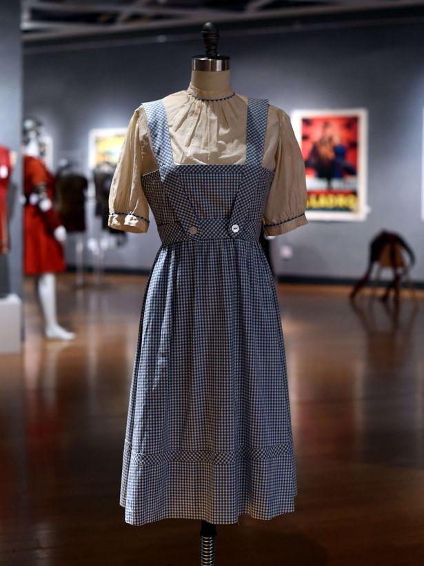Judy garlands dress
