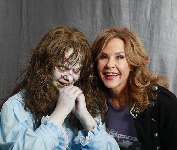 Exorcist Linda Blair