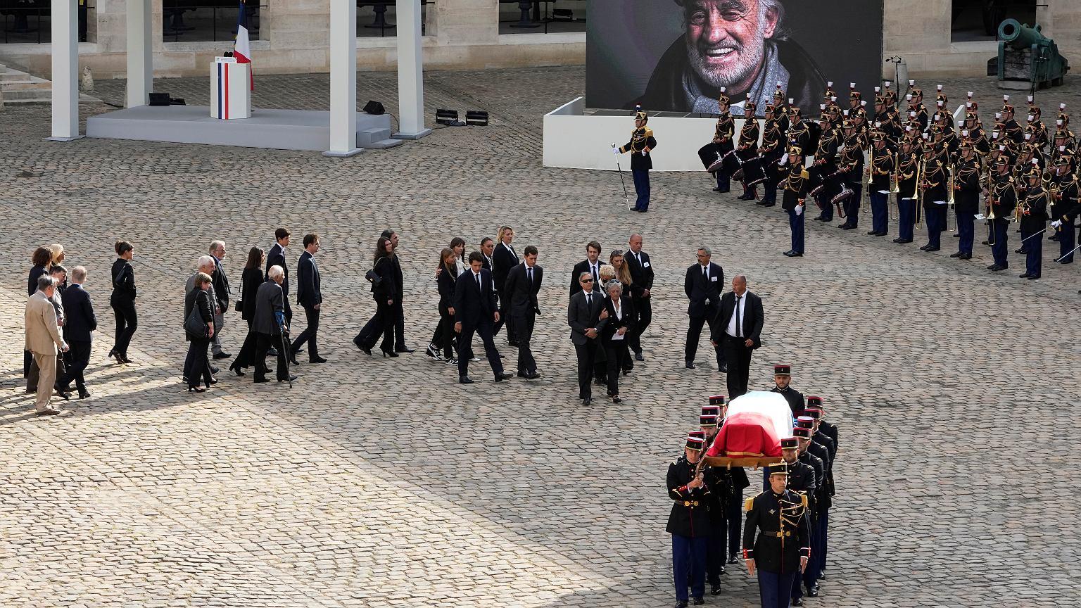 Belmondo funeral 2