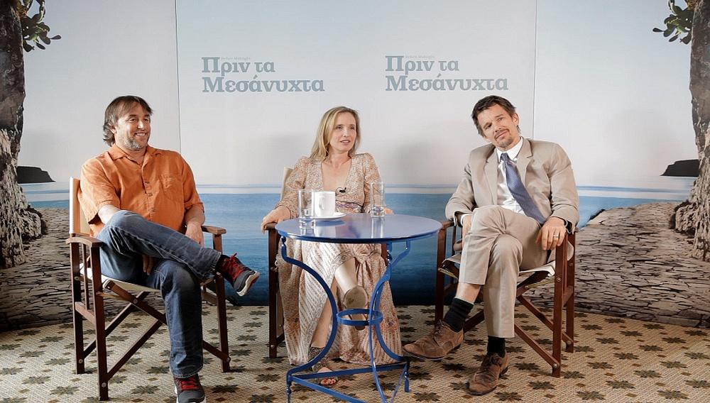 Ιθαν Χοκ, Ζιλί Ντελπί, Ρίτσαρντ Λινκλέιτερ: το υπέροχο τρίο του «Πριν τα Μεσάνυχτα» στην κάμερα του flix