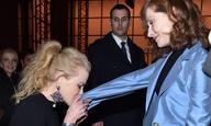 Oscars 2017: Οταν η Νικόλ Κίντμαν φίλησε το χέρι της Ιζαμπέλ Ιπέρ