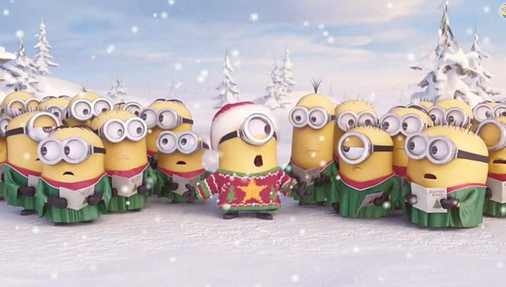 Τα χριστουγεννιάτικα κάλαντα των Μinions είναι ήδη viral!