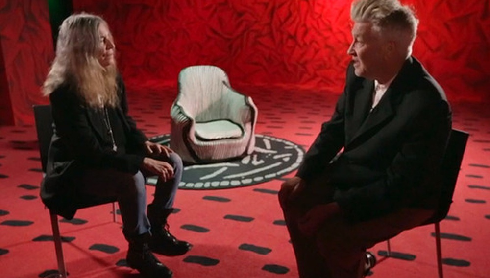Οταν ο Ντέιβιντ Λιντς και η Πάτι Σμιθ συζητούν...