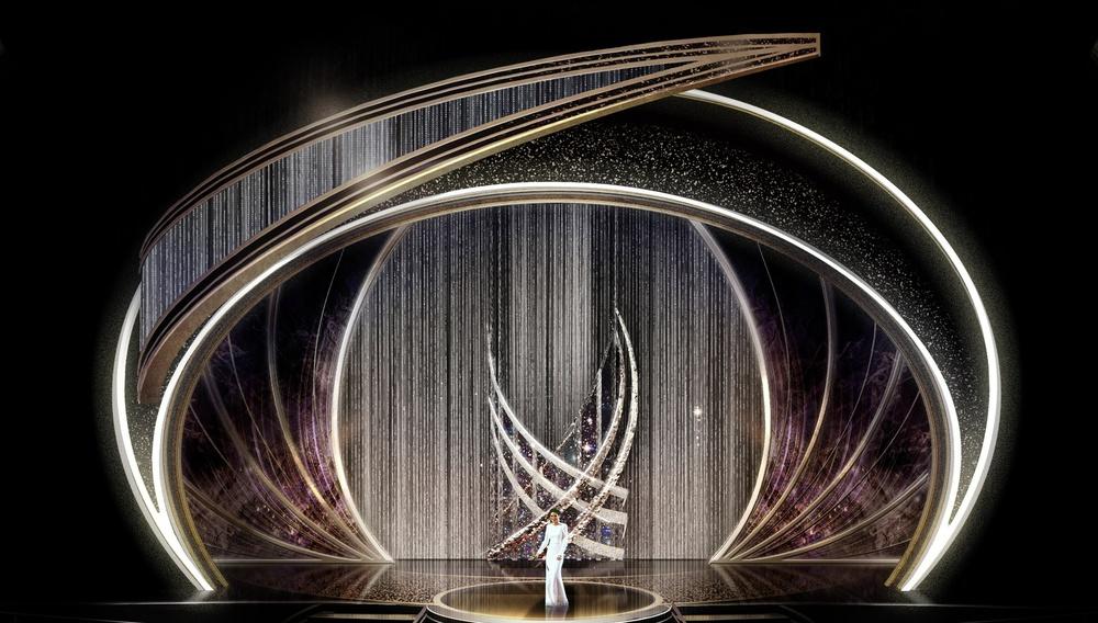 Η σκηνή της απονομής των Οσκαρ θα είναι ένας «κυκλώνας λάμψης»
