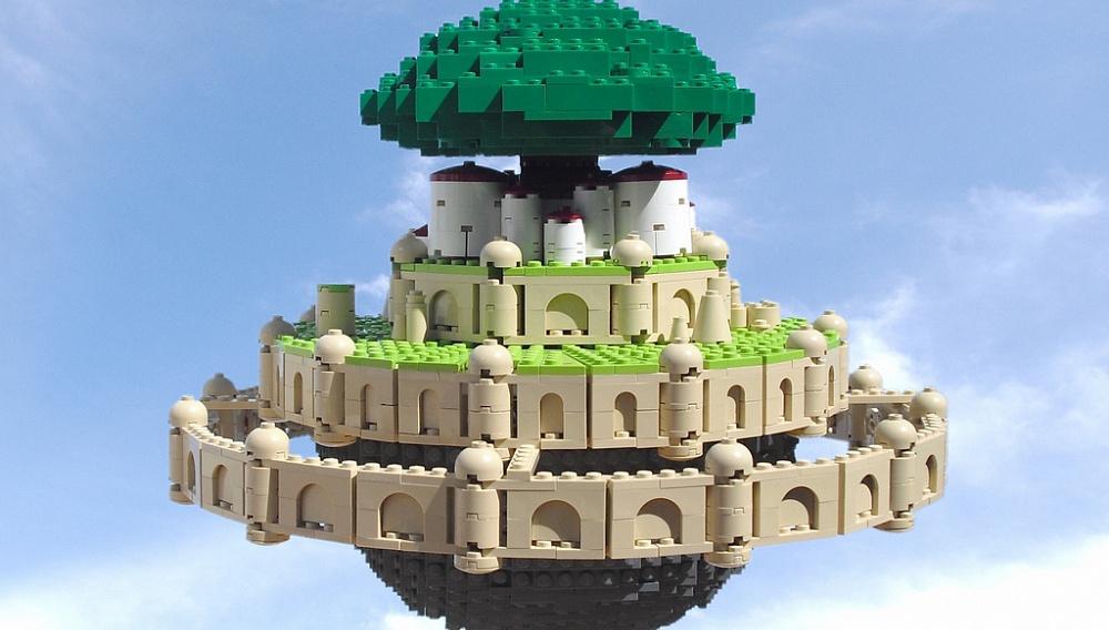 Ο Ochre Jelly και ο Χαγιάο Μιγιαζάκι παίζουν με τα Lego τους