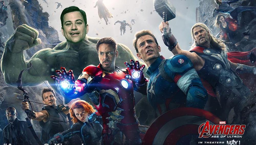 Ο Τζίμι Κίμελ παίζει παιχνίδια με τους «Avengers»
