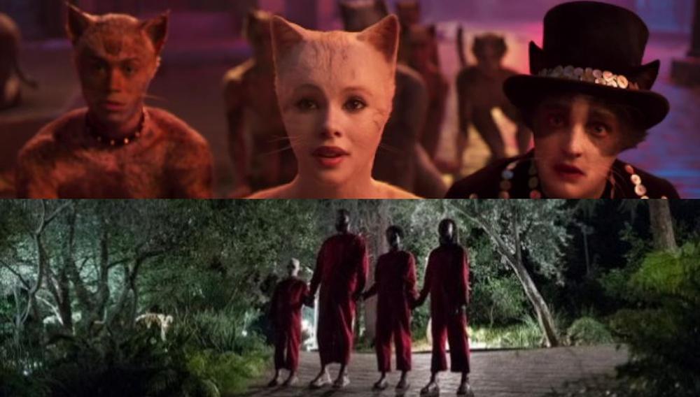 Ο Τζόρνταν Πιλ συμφωνεί: το mashup των trailer των «Cats» και «Us» είναι... πολύ καλύτερο!