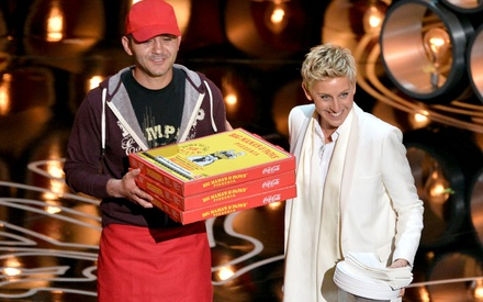 Θέλει κανείς πίτσα; Οι καλύτερες στιγμές της Ελεν στα Οσκαρ