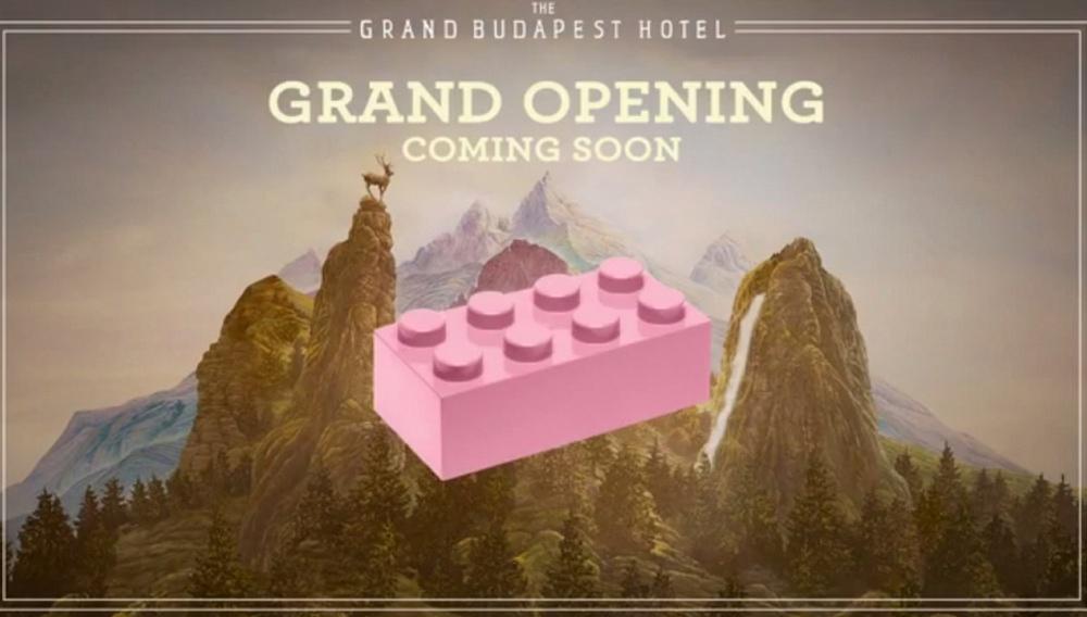 Δείτε πώς έφτιαξαν το «The Grand Budapest Hotel» από Lego
