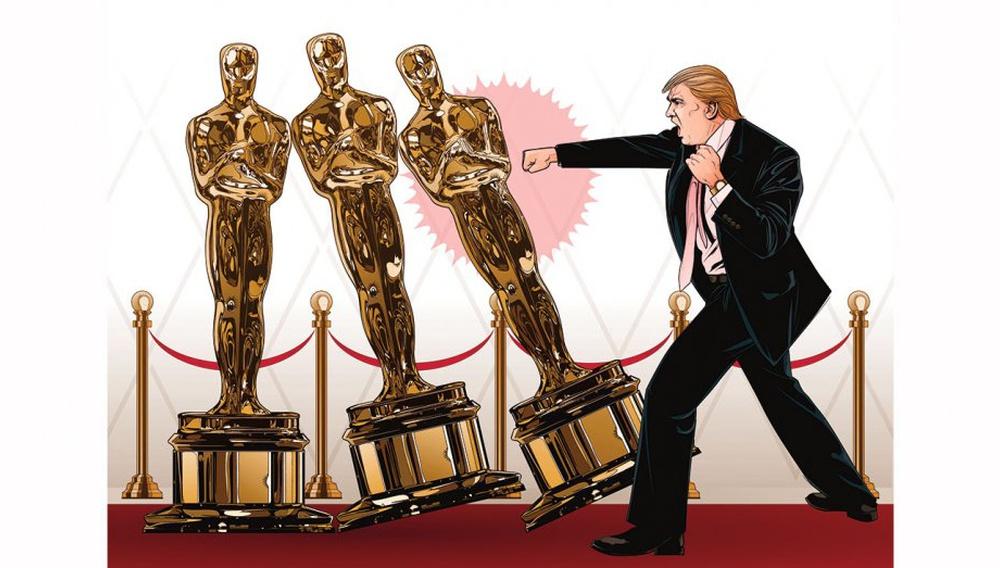 Ο Ντόναλντ Τραμπ ξέρει τι φταίει για το λάθος στα Οσκαρ: Η υπερβολική πολιτική!